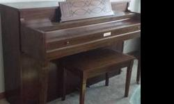 $350 Lindenauer (Kimbal) Upright Spinet Piano