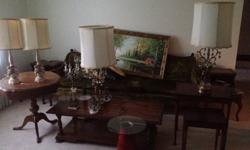 $350 Lot of vintage furniture