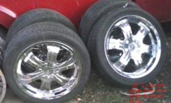 "$350 OBO 20"" Rims n good year tires"