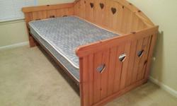 $350 OBO Daybed, Mattress, Large & Small dresser