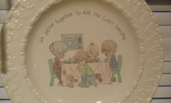 $350 Precious Moments Lord's Blessing Dinnerware set