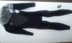 $350 Rip Curl Flashbomb 3/2 Chest Zip Wetsuit - Black - Mens