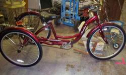 $350 schwinn three wheel bike nice (chickasha)