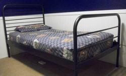 $35 Black metal twin bed