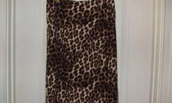 $35 Cheetah Pencil Skirt