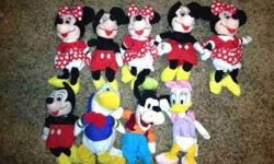 $35 Collection of Disney Stuffed Characters (LaVista)