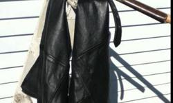 $35 Leather Cycle Chaps