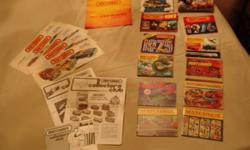 $35 Lot of Vintage Matchbox Collector Catalogs + Misc Items