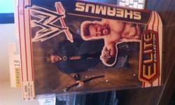 $35 OBO Rare WWE Sheamus Action Figure Elite Collection