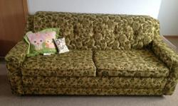 $35 Vintage Hideaway Couch