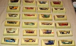 $365 Large Lot of Matchbox Models of Yesteryear (1969 -