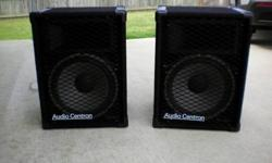 $375 Audio Centron PA Speakers 15'' (Made in USA)( Made in