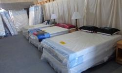 $375 ***King Pillow top Mattress Set