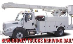 $37,500 Versalift I240- 2001 International 4700 4x2 Bucket