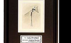 $382 Licenced Disney Etchings The Nightmare Before Christmas