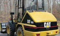 $38,500 1999 CAT 906 Wheel Loader