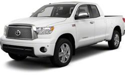 $38,775 2013 Toyota Tundra Double Cab 5.7L V8 6-Spd AT