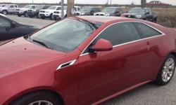 $38,988 2012 Cadillac CTS Coupe Premium