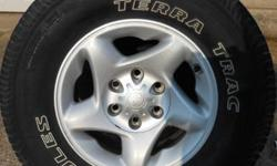 "$390 OEM Toyota 16"" Alloy Wheels/Tires Set of Four"