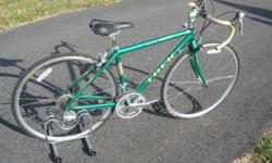 $395 Trek road bikes, exc condition, various sizes
