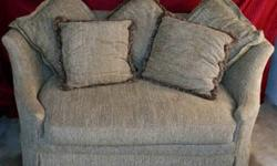$399 Sofa Loveseat with Cushions - Reduced 45%