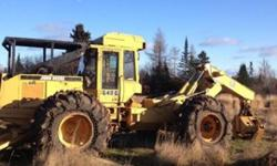 $39,000 1996 John Deere 648G Grapple Skidder