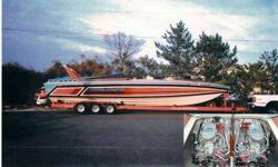 $39,900 1983 CHRIS CRAFT Stinger - 390X Offshore Power boat