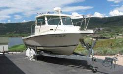 $39,995 2008 22 foot Defiance 220NT Admiral Pilot House