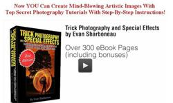 $39 Trick Photography & Special Effects E-Book