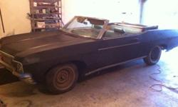 $3,000 1970 chevy impala convertible