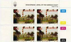 $3 1992 Namibia 45c Stamp 4-Block MINT NH (STM-001272)