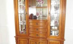 $3,300 BEAUTIFUL Oak Dining Room Furnture