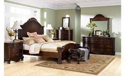 $3,500 Ashley North Shore Bedroom Set