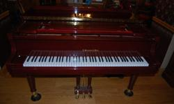 $3,500 OBO J Strauss & Sons baby grand piano