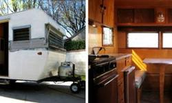 $3,500 Original 1961 Manorette 13' Vintage Travel Trailer