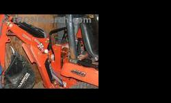 $3,500 Woods bh6000 Backhoe
