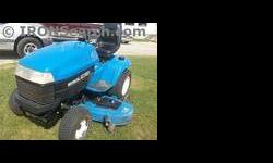 $3,795 2001 New Holland GT20 Mower/Riding
