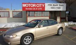$3,795 Used 2000 Pontiac Grand Prix for sale.