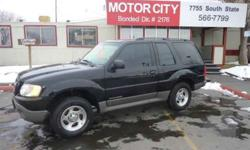 $3,795 Used 2002 Ford Explorer for sale.