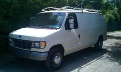 $3,800 92 Ford E250 Cargo Van with 75k Orig. with Rack &