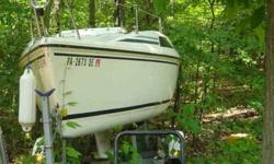 $3,900 1991 Hunter 18.5 Sailboat