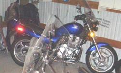 $3,900 1993 HONDA 750 NIGHTHAWK BLUE 11k MILES MANY