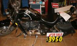 $3,995 Used 2005 Honda Shadow for sale.