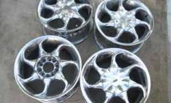 4-15 inch 1997/98 Infinity i30 wheels. (Holladay)