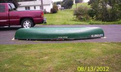 $400 2004 Rogue River 14 canoe with gas engine and