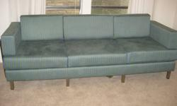 $400 Contemporary Todd Oldham couch with mid-century look