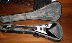 $400 Epiphone 1967 Flying V reissue electric guitar