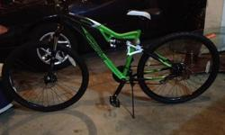 $400 Ironhorse Mountain Bike