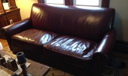 $400 Leather Sofa