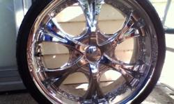 "$400 OBO Set of 4 18"" Chrome Rims"